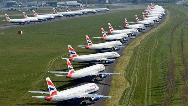 ضرر هنگفت شرکتهای هواپیمایی از شیوع کرونا/ کاهش ۲۵ درصدی سهام