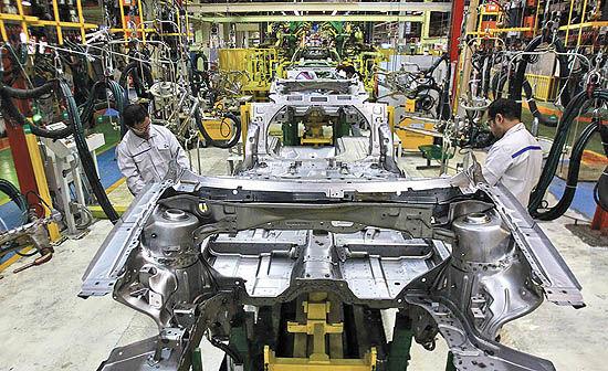 آغاز خزان خودروسازی