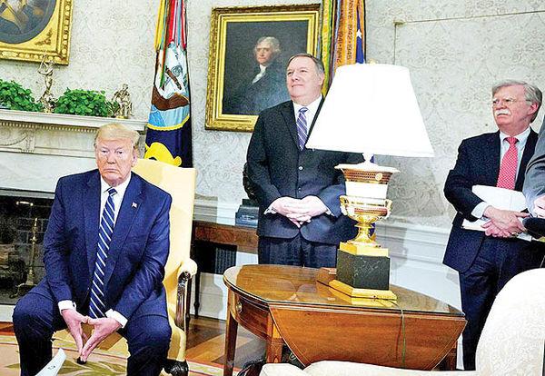 عقبگرد نظامی ترامپ