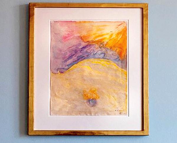 حراج اثر نقاش سوئدی که پس از مرگ مشهور شد
