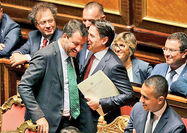 سقوط دولت در ایتالیا