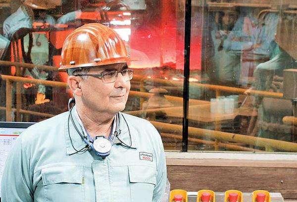 فولاد هرمزگان در آستانه دستیابی به ظرفیت کامل تولید