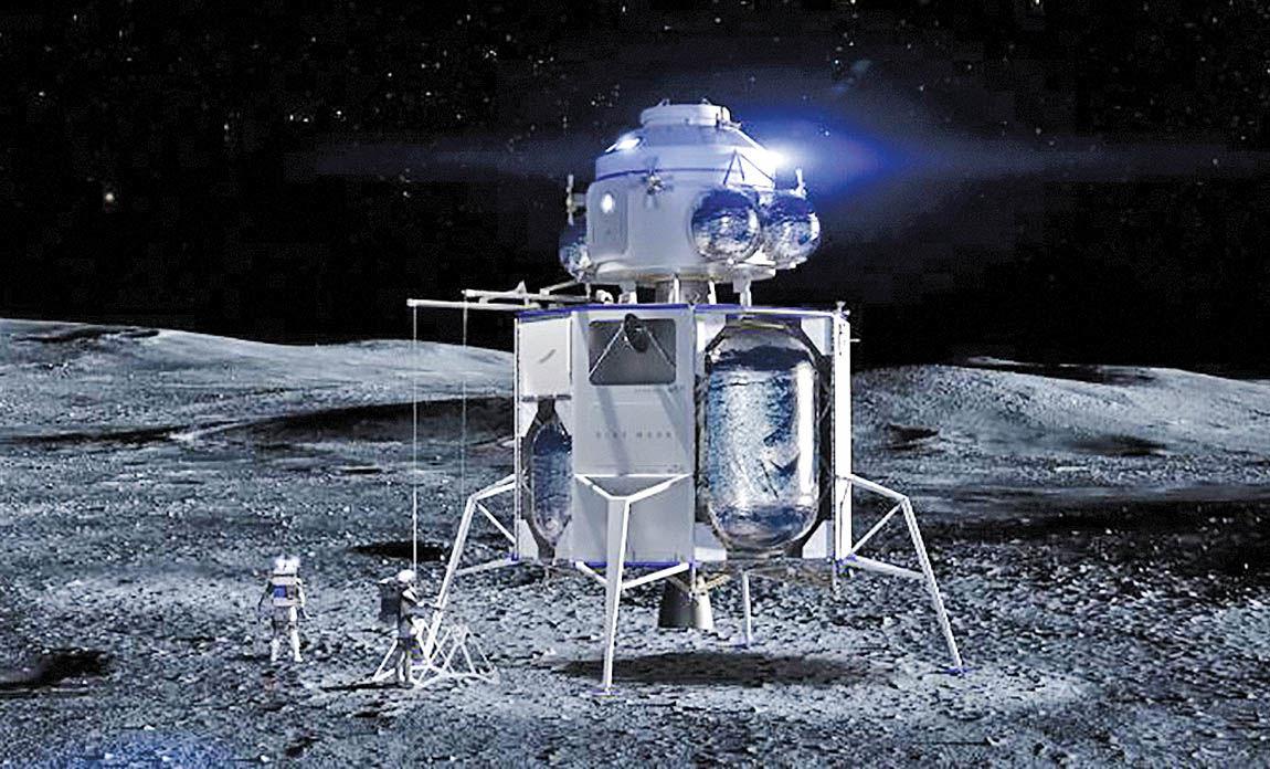 رویاهای جف بزوس برای سفر به ماه