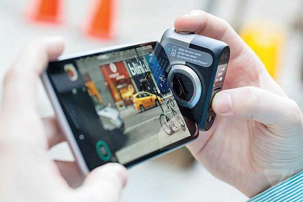 دوربین حرفهای برای اتصال به گوشیهای اندرویدی