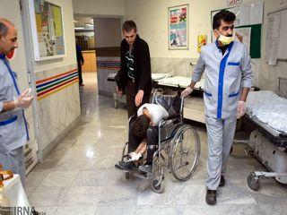 مصدومان چهارشنبهسوری در بیمارستانهای کشور