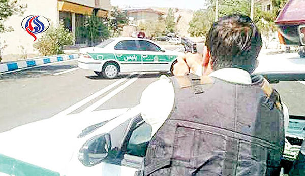 قمهکشی شرور و عقبنشینی پلیس