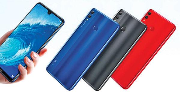 گوشیهای Honor 8X و 8X Max معرفی شدند