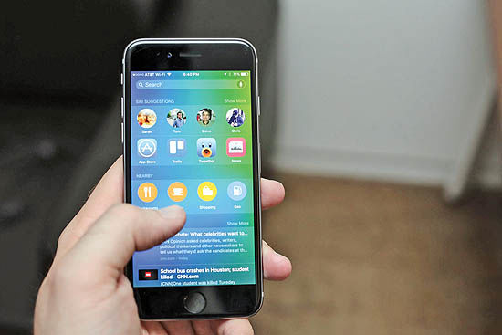 پیشروی اپل در سیستمعامل موبایل