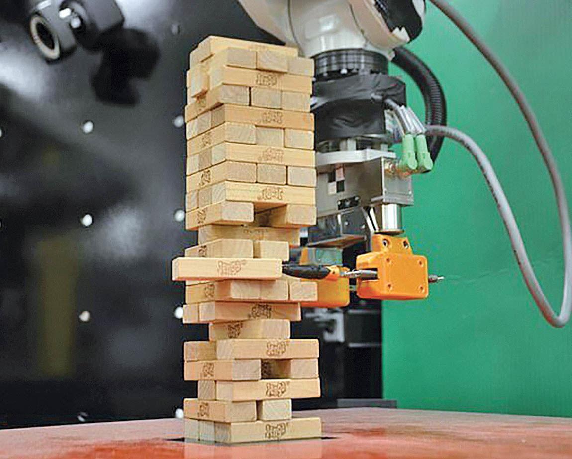 ساخت روباتی که «جِنگا» بازی میکند