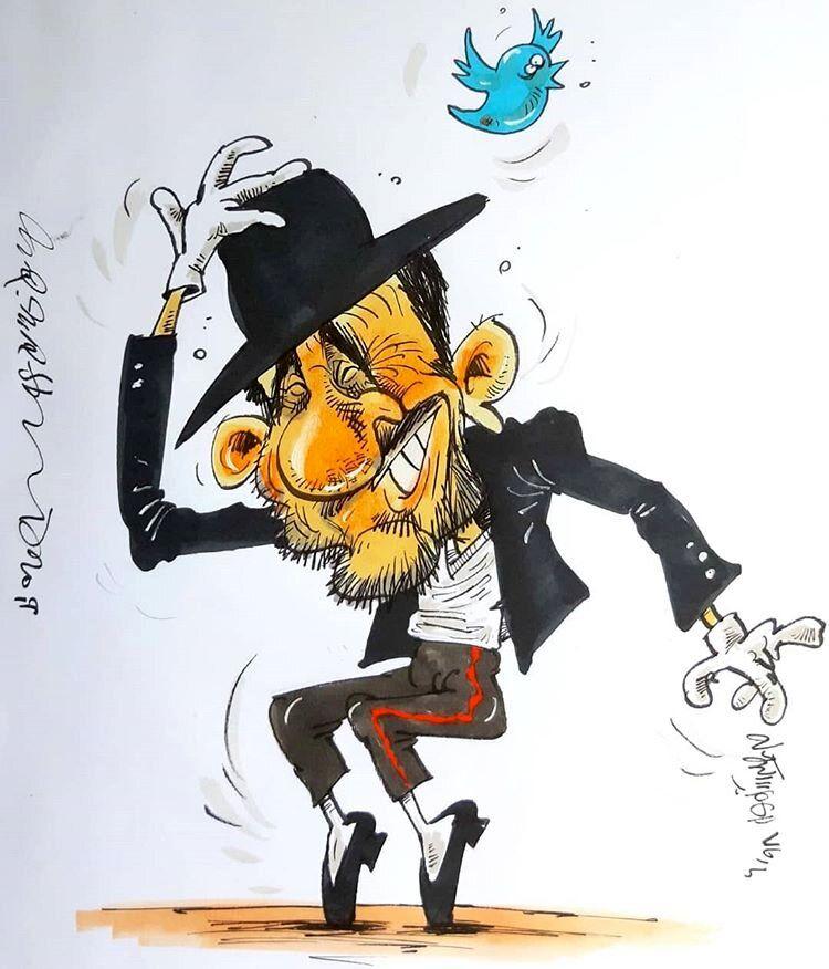 علاقه شدید احمدینژاد به مایکل جکسون را ببینید!