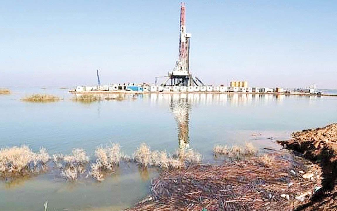 ایمنی تولید نفت در برابر سیل
