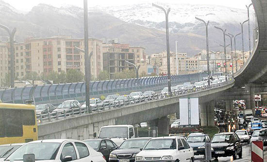 ماشینزدایی از چهره تهران