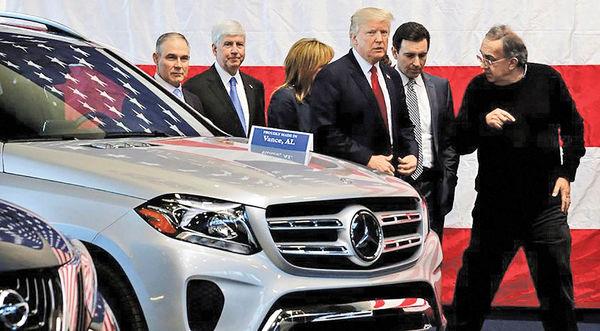 واهمه خودروسازان اروپایی از تعرفهها