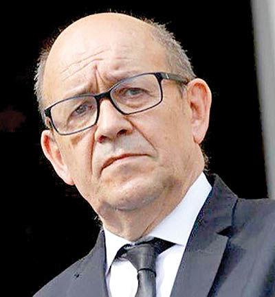 ادعای وزیر خارجه فرانسه درباره ایران