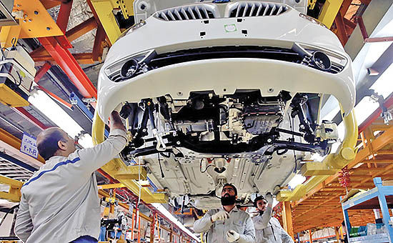 تداوم ریتم منفی تولید خودرو