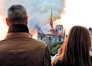 پیامد حریق برای توریسم پاریس