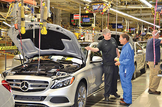تنش آبوهوایی برای خودروسازی آلمان