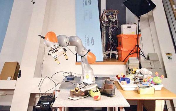 روباتی برای مرتب کردن اتاق