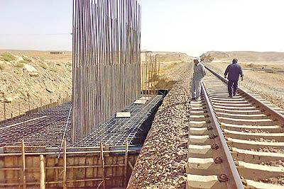 افتتاح خط آهن تبریز به میانه