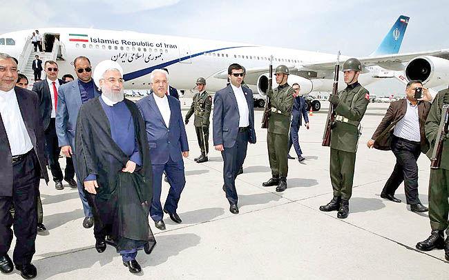 سفر اضطراری روحانی به ترکیه