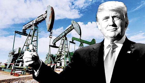 حمله توییتری ترامپ به نفت