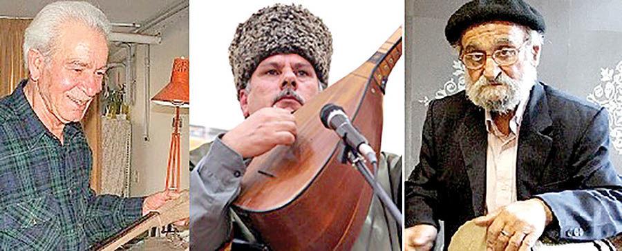 معرفی سه چهره موسیقی به گنجینههای زنده بشری