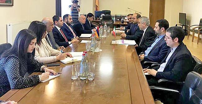 تقویت تعاملات اقتصادی ایران و ارمنستان