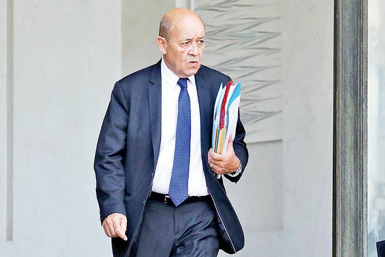 سفر دومنظوره وزیر فرانسوی