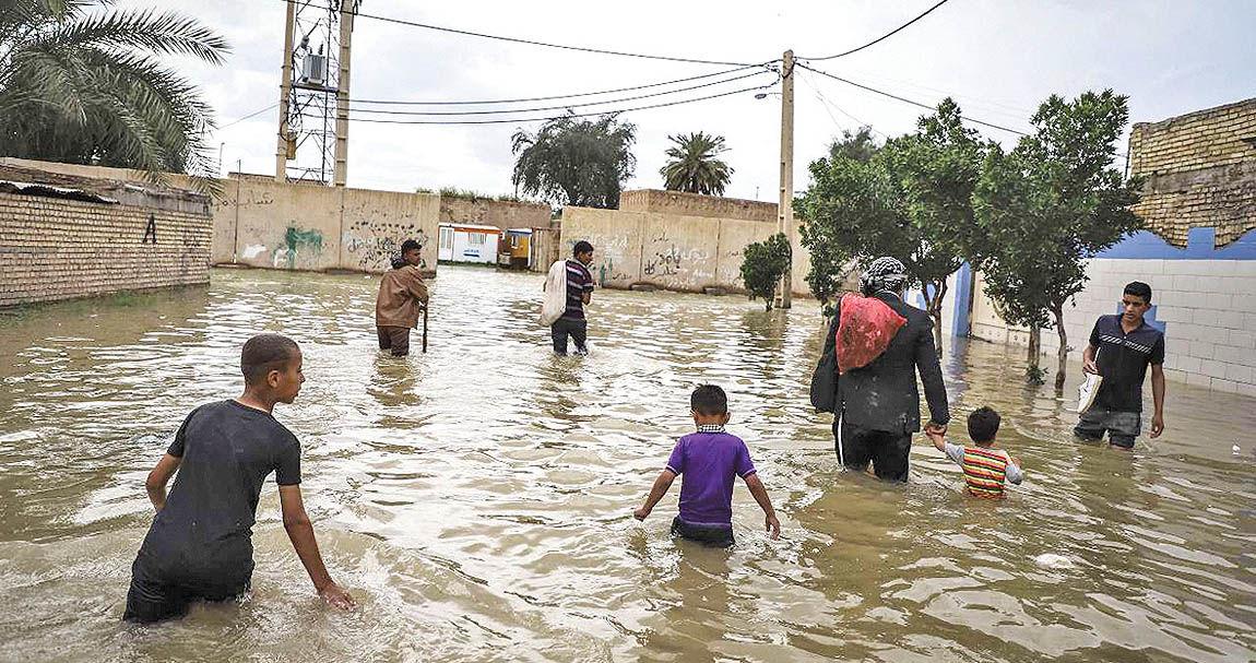 نارضایتی از رسیدگی به سیلزدگان