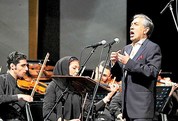 آواز رشید وطندوست در«شب موسیقی آذربایجان»