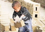 تصویر آماری از کودکان کار