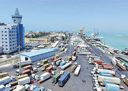 افزایش ترانزیت و واردات کالا در بندر امیرآباد