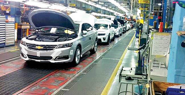 مداخله دولت آمریکا در صنعت خودرو