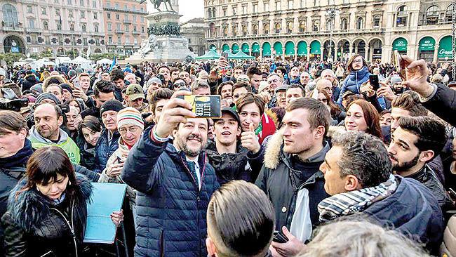 جذام بنن در خیابانهای رم