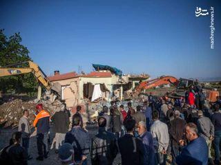 اولین تصاویر از خسارات زلزله امروز ترکیه