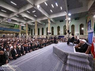 دیدار میهمانان اجلاس بینالمللی وحدت اسلامی با رهبر انقلاب