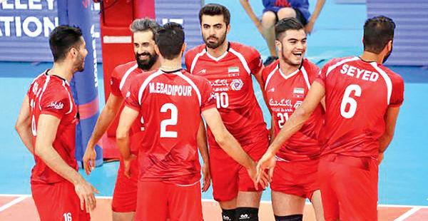 حال والیبال ملی ایران خوب است
