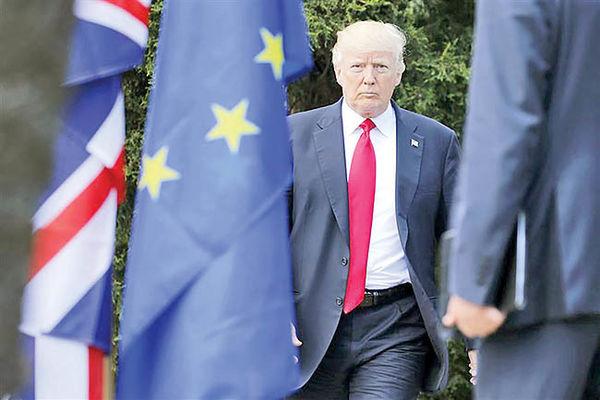 ایران، عامل اصلی شکاف آمریکا و اروپا