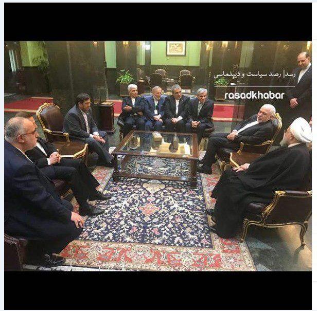 روایت همتی زا دیدار با نخست وزیر ژاپن