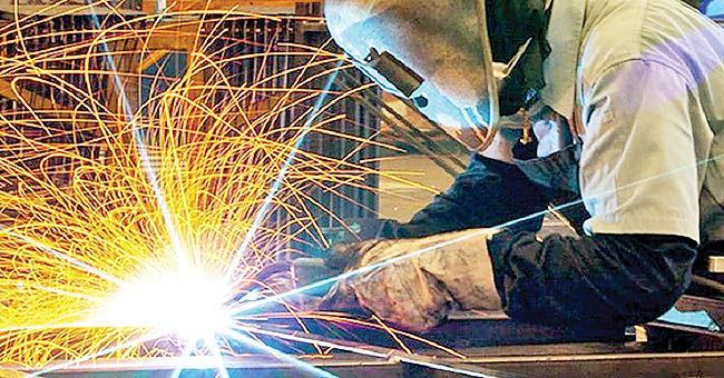 صف تقاضا برای کار صنعتی