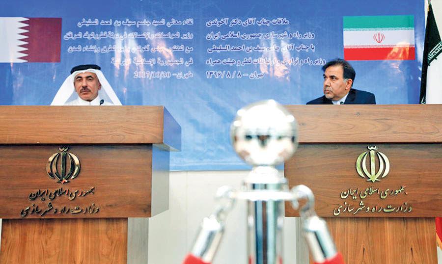 هدفگذاری برای توسعه ارتباط حملونقلی بین بنادر ایران و قطر