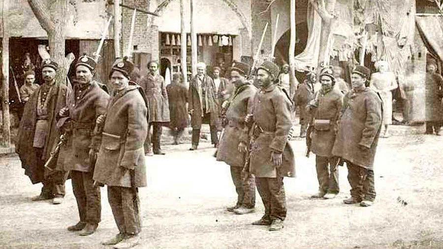 ارتش ایران در دوره محمدشاه قاجار