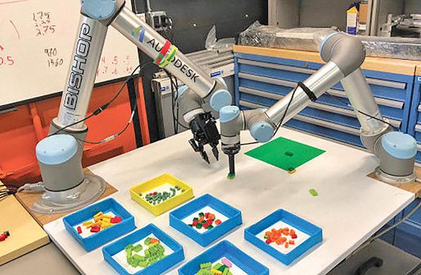 «روباتهای لگوساز» آینده تولید صنعتی را ترسیم میکنند