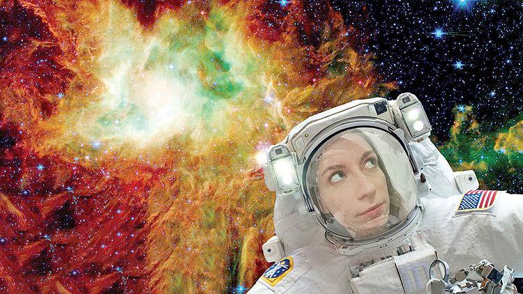 سلفی در فضا