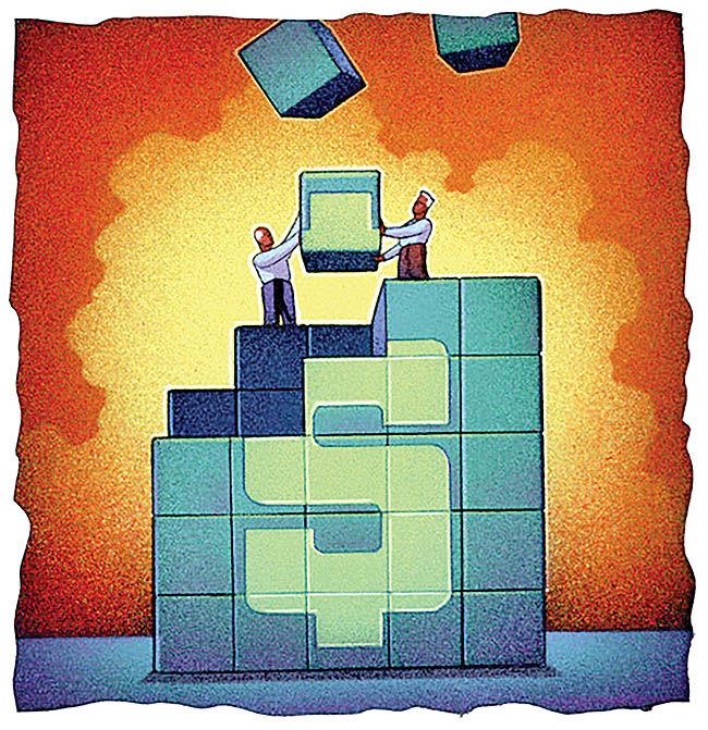 فرمول پایداری دو اهرم اقتصاد