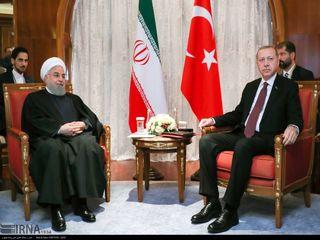 دیدار روسای جمهور ایران و ترکیه در سوچی