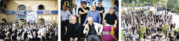 سوگ صداهای محبوب در تشییع حسین عرفانی