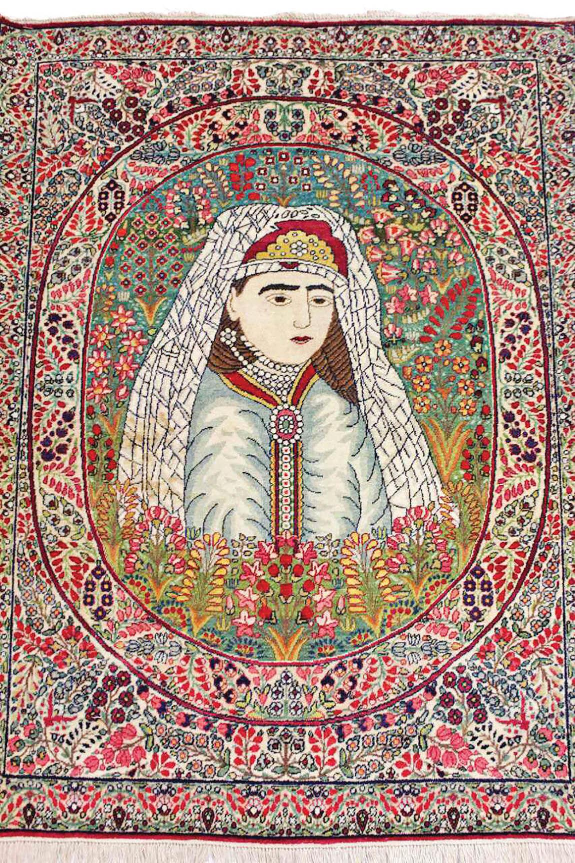 داستان فرش در دوره قاجار